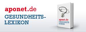 Zum Gesundheitslexikon auf aponet.de